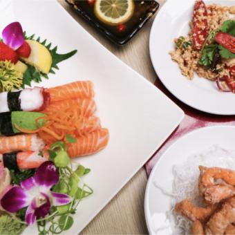 Grootste keus Chinees, Japans en Sushi bij De Kroon in Heerlen