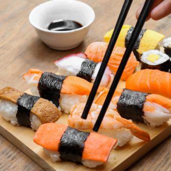 Sushi bij De Kroon Heerlen afhalen bezorgen en eten